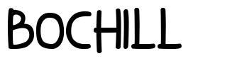Bochill font