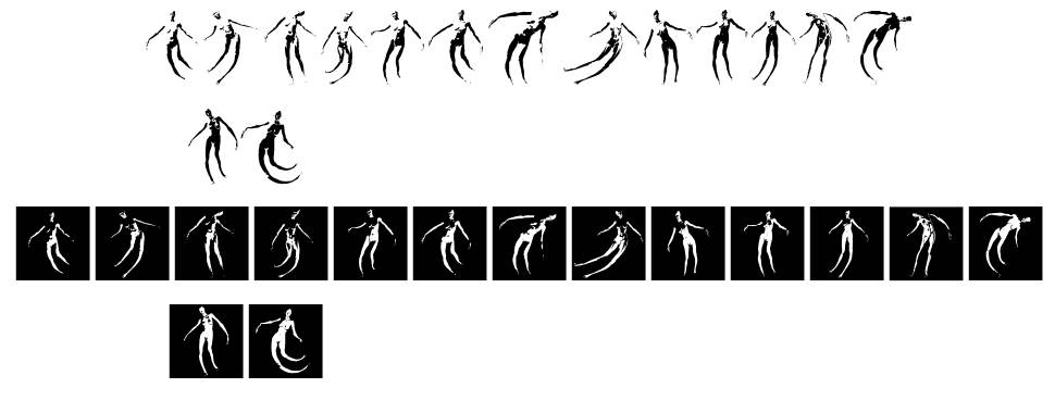 Body Moving font