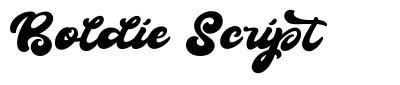 Boldie Script