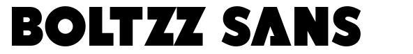 Boltzz Sans