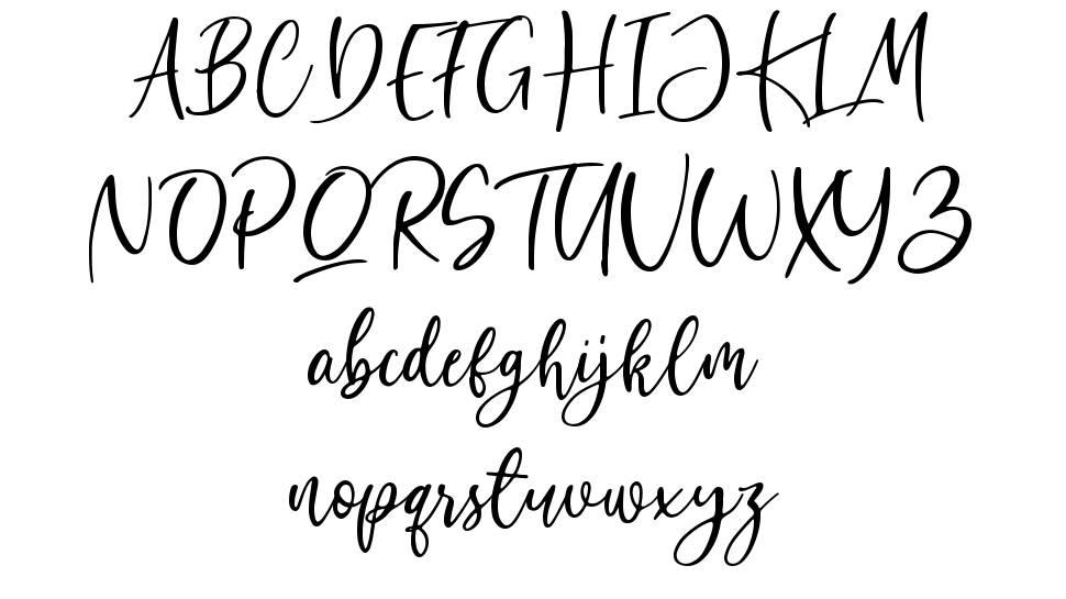 Bombinate шрифт