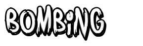 Bombing font