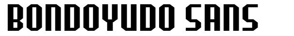 Bondoyudo Sans
