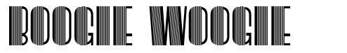 Boogie Woogie font