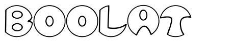 Boolat font