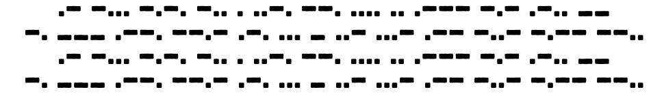 Bootcamp Morsecode police