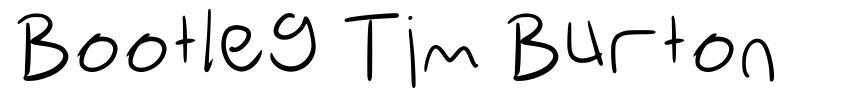 Bootleg Tim Burton