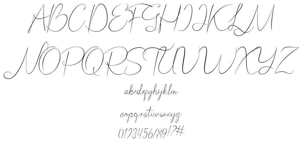 Bordershine Script font