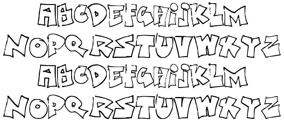 Bored Schoolboy font