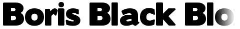 Boris Black Bloxx