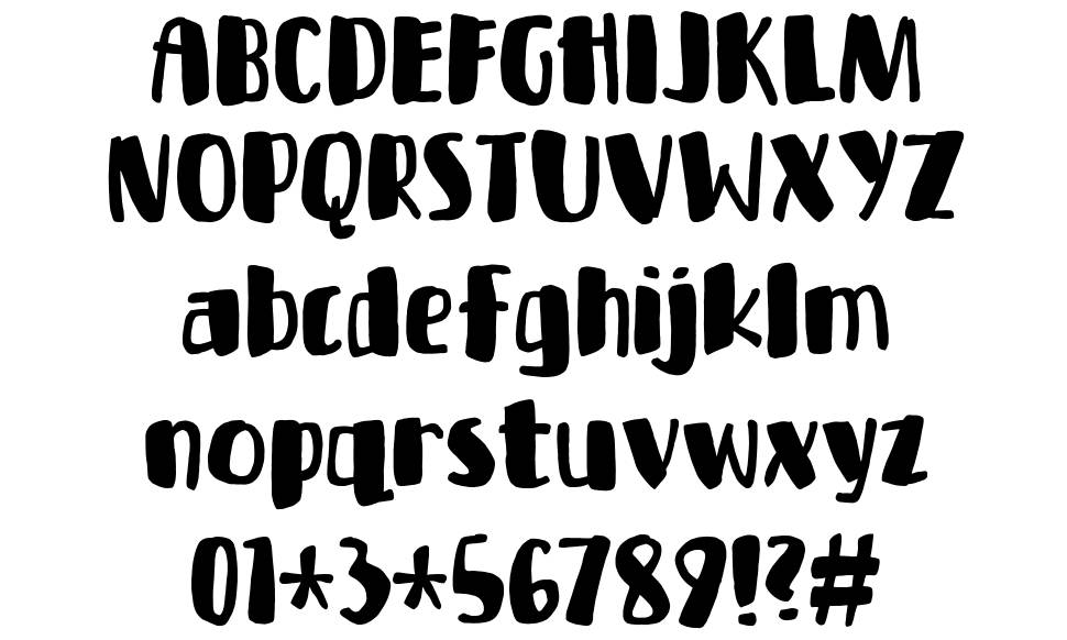Bottle Party font