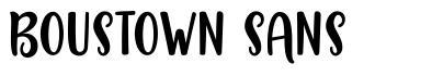 Boustown Sans