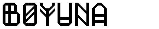 Boyuna font