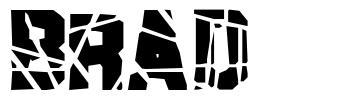 Brad font
