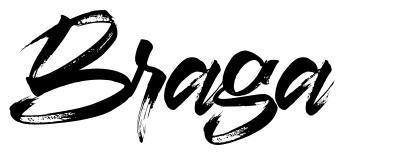 Braga フォント