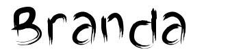 Branda font