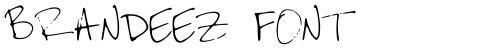 Brandeez Font