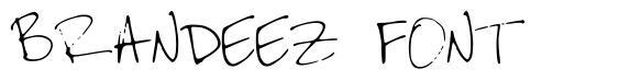 Brandeez Font font
