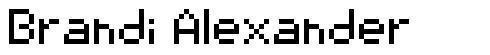 Brandi Alexander font