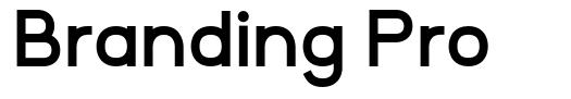 Branding Pro schriftart
