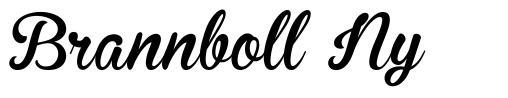 Brannboll Ny шрифт