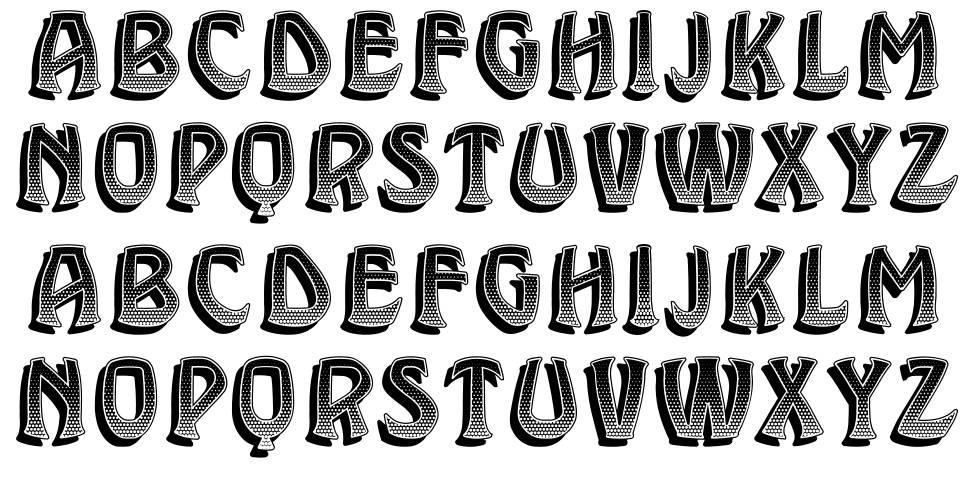 Brassica font