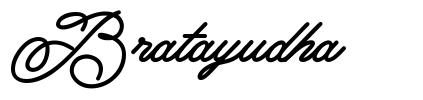 Bratayudha font