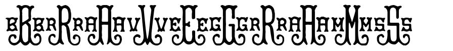 BraveGrams フォント