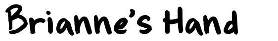 Brianne's Hand 字形