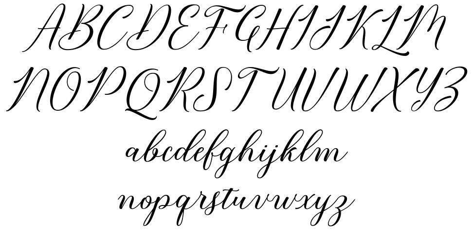 Bridget Script font