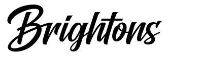 Brightons písmo