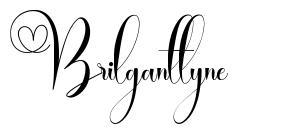 Brilganttyne písmo