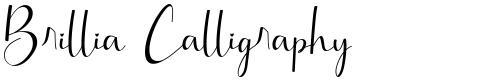 Brillia Calligraphy