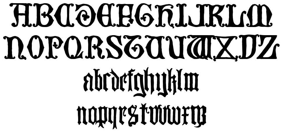 Britannia schriftart