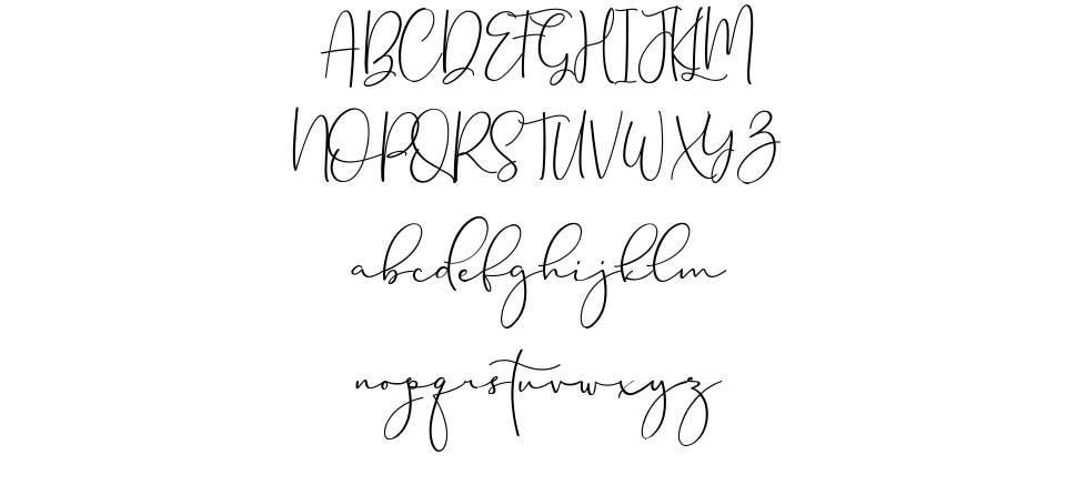 Brittaney шрифт