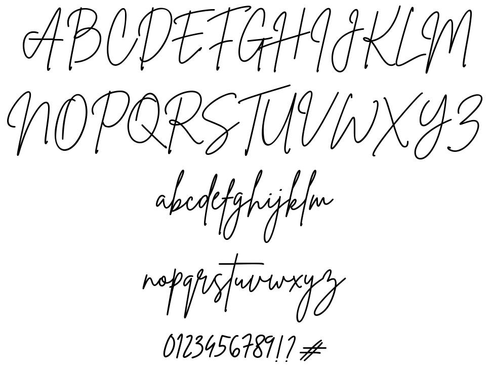 Brittany Signature шрифт
