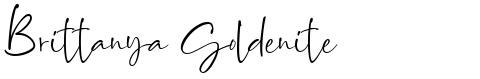 Brittanya Goldenite