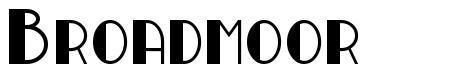 Broadmoor font