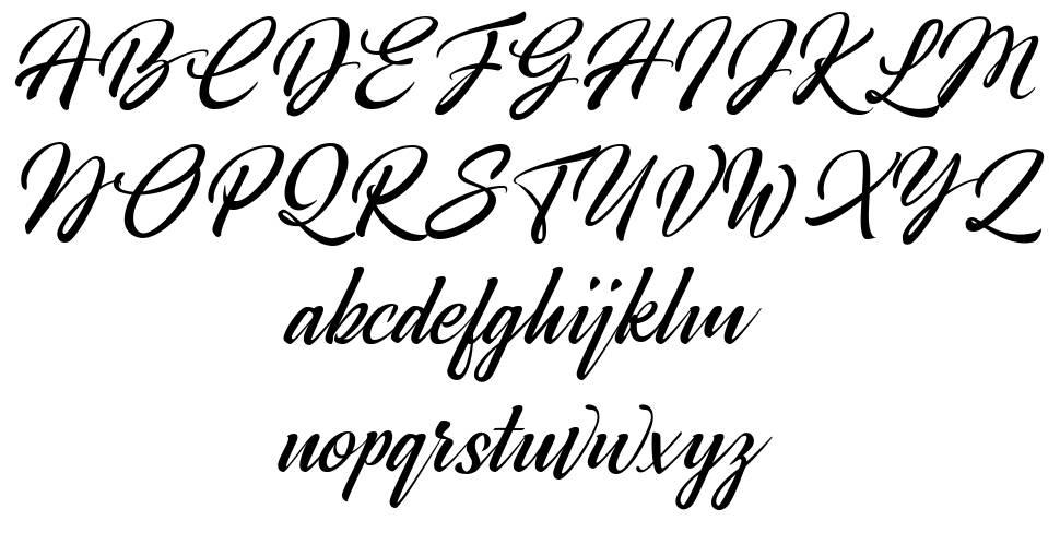 Broda font