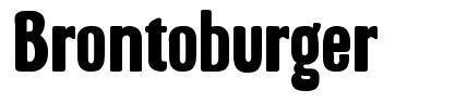 Brontoburger font
