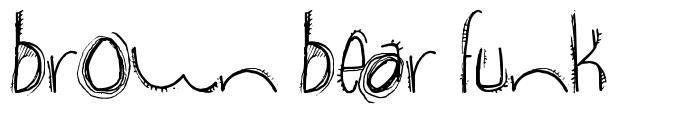 Brown Bear Funk 字形