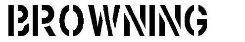Browning 字形