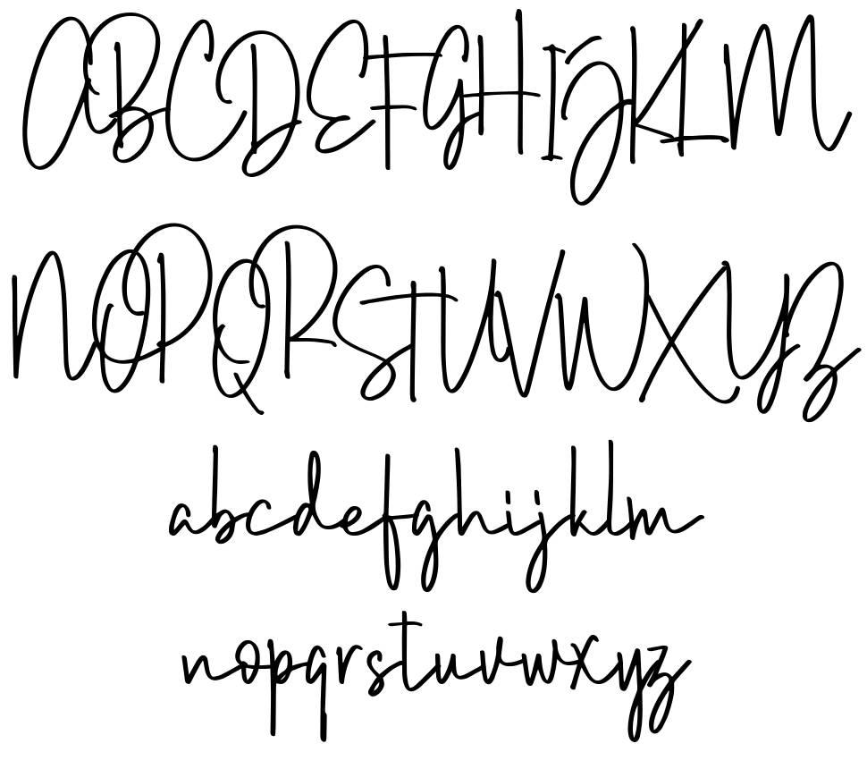 Brush Wayne font