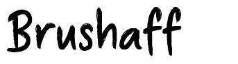 Brushaff font