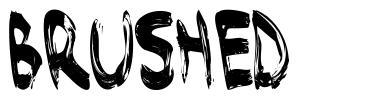 Brushed 字形