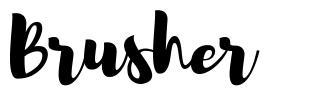 Brusher