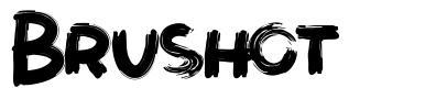 Brushot шрифт