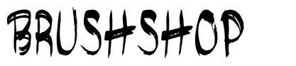 Brushshop font