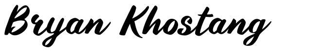 Bryan Khostang