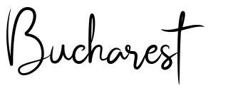 Bucharest font